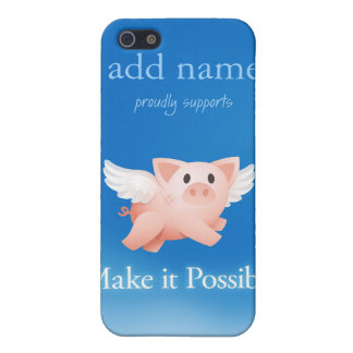 Make it Possible iphone4 tough case (personalized) iPhone 5 Case