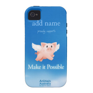 Make it Possible iphone 4 cover (personalized)