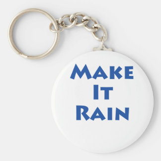 Make It Rain! Keychain