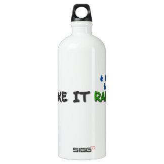 Make It Rain Water Bottle