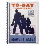 Make It Safe! Spiral Note Book