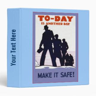 Make It Safe! Vinyl Binder