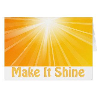 Make It Shine! Card