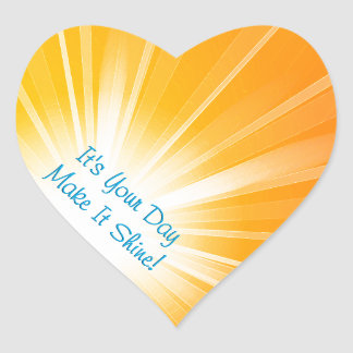 Make It Shine! Heart Sticker