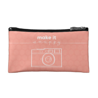 """Make It Snappy"" Make-Up Bag"