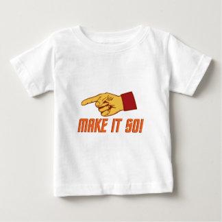 Make It So! Baby T-Shirt