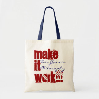 MAKE IT WORK! BUDGET TOTE BAG