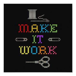 Make It Work Fashion Card