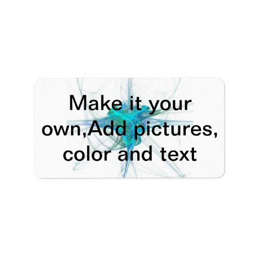 Make it your own,Add pictures, color and text Address ...