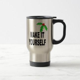 Make It Yourself Christmas Stainless Travel Mug