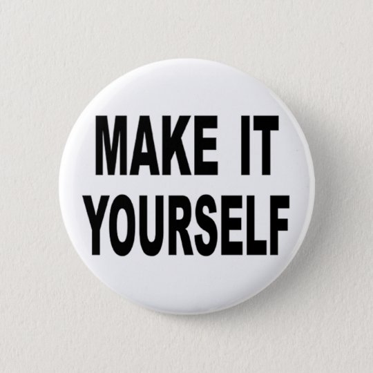 Make It Yourself Custom Button Pins