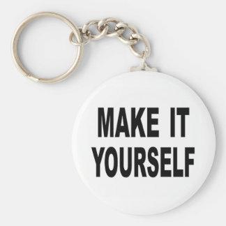 Make It Yourself Custom Key Chains