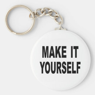 Make It Yourself Custom Keychain