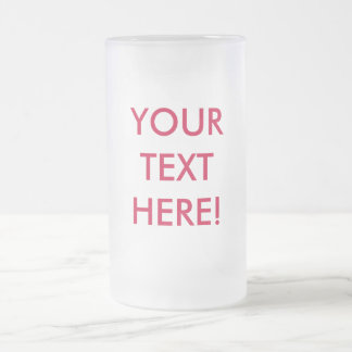 MAKE IT YOURSELF GIFT Glass Mug