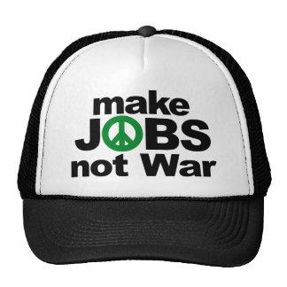 Make Jobs, Not War Trucker Hat