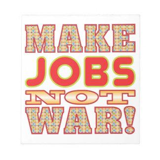 Make Jobs v2b Note Pad