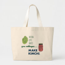 Make Kimchi! Large Tote Bag
