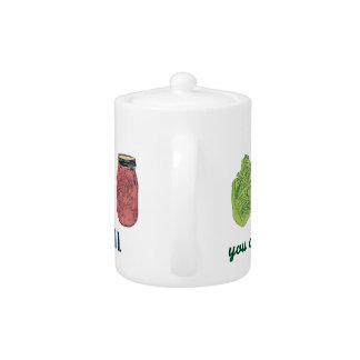 Make Kimchi! Teapot