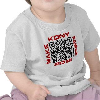 Make Kony Famous 2012 Video QR Code Joseph Kony Tees
