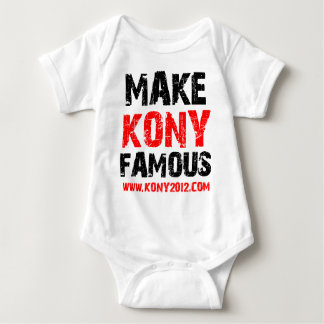 Make Kony Famous - Kony 2012 Baby Bodysuit
