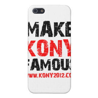 Make Kony Famous - Kony 2012 Case For iPhone SE/5/5s