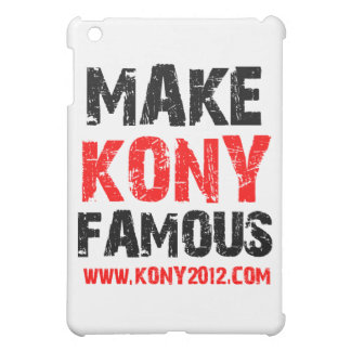 Make Kony Famous - Kony 2012 iPad Mini Cover