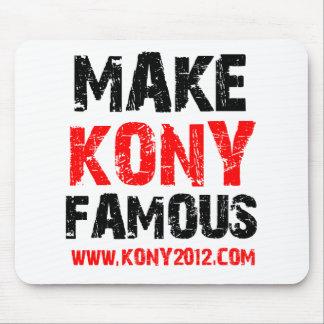 Make Kony Famous - Kony 2012 Mouse Pad