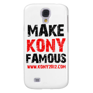 Make Kony Famous - Kony 2012 Samsung Galaxy S4 Cover