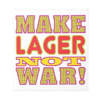 Make Lager Memo Pads