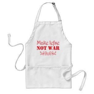 Make Lefse Not War apron