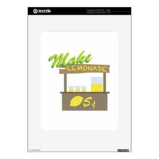 Make Lemonade iPad Skin