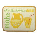 Make Lemonade MacBook Pro Sleeve