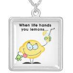 Make Lemonade Personalized Necklace