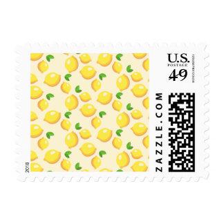 Make Lemonade - Sweet Yellow Lemon Print Postage