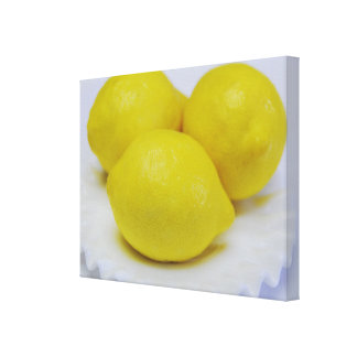 Make Lemonade Wrapped Canvas