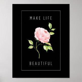 Make Life Beautiful Poster