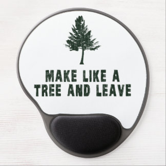 Make Like a Tree and Leave Gel Mouse Pad