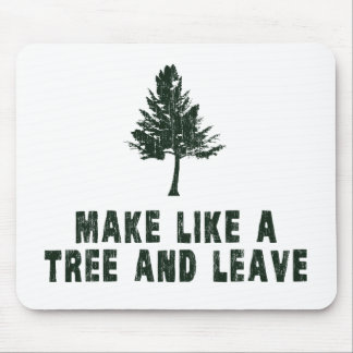 Make Like a Tree and Leave Mouse Pad