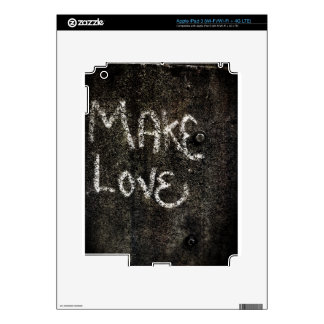Make Love Decals For iPad 3
