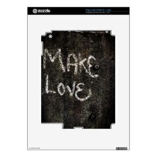 Make Love iPad 2 Decal