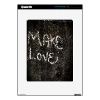 Make Love iPad Decals