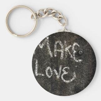Make Love Key Chain
