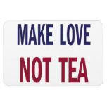 Make Love, Not Tea Flexible Magnets