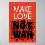 Make Love - Not Ugly War Poster