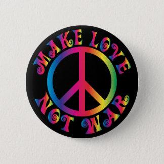 Make Love Not War Button