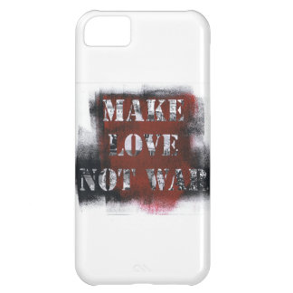 Make Love not War iPhone 5C Cover