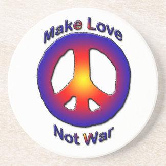 MAKE LOVE NOT WAR - COASTER
