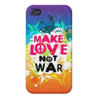Make Love Not War iPhone 4 Speck Case