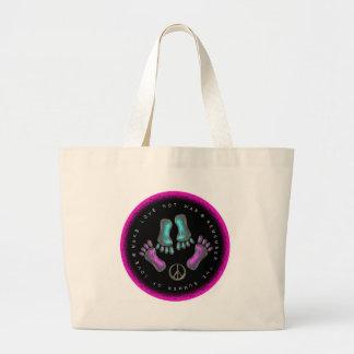 Make Love, Not War Large Tote Bag
