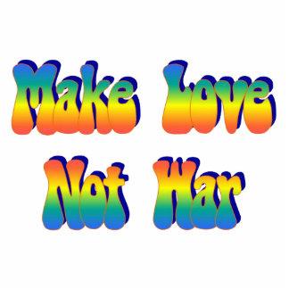 Make Love Not War Pin Statuette